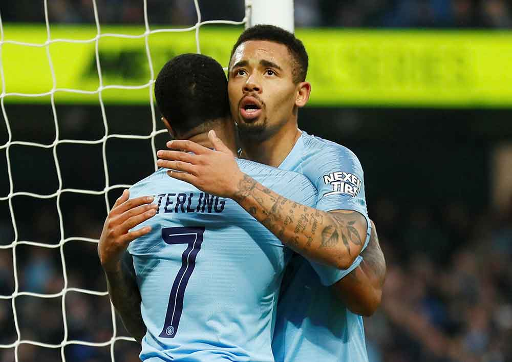 Gabriel Jesus denies contract talks at City