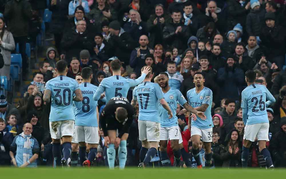 'Not Good Enough' 'We Have Lost Our Touch Of Class' 'Scraped Through' City Fans On Twitter Assess Narrow Win Against Chelsea