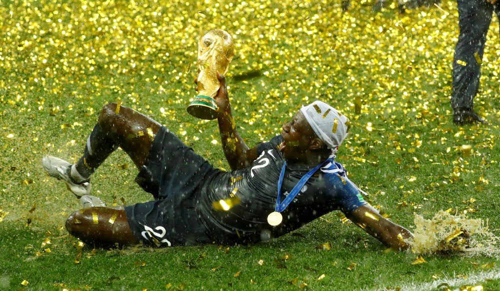 Mendy caps off brilliant season with World Cup winners medal