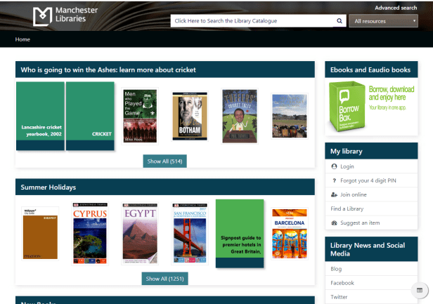 Library catalogue now mobile friendly - manclibraries blog