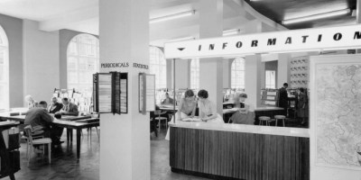 picture of business library 1934