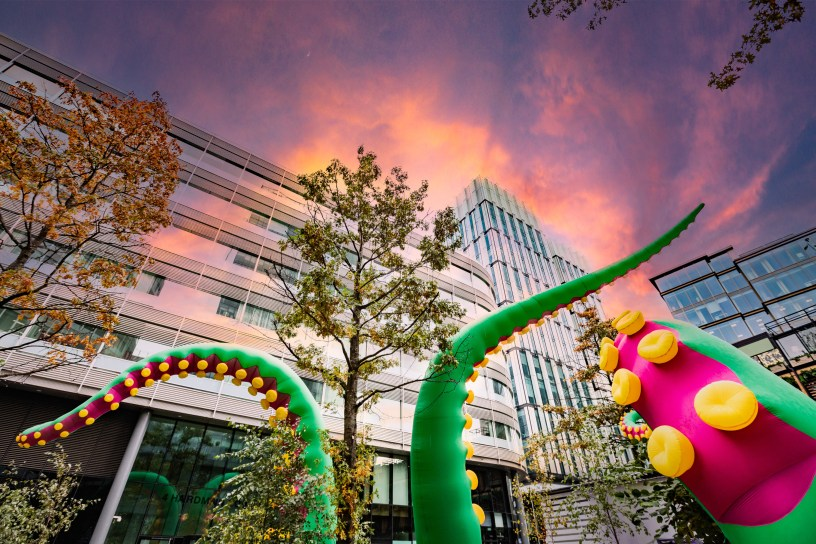 Monster tentacle's in spinningfields