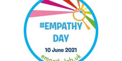 Empathy day round logo