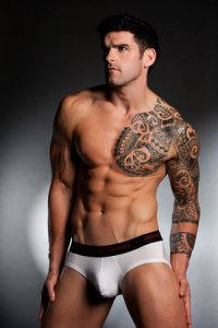 Stuart Reardon wears Jockey 3D