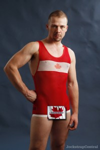 JSC Wrestling Singlet Canada