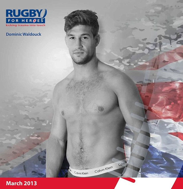Dominic Walkdouck Rugby For Heroes