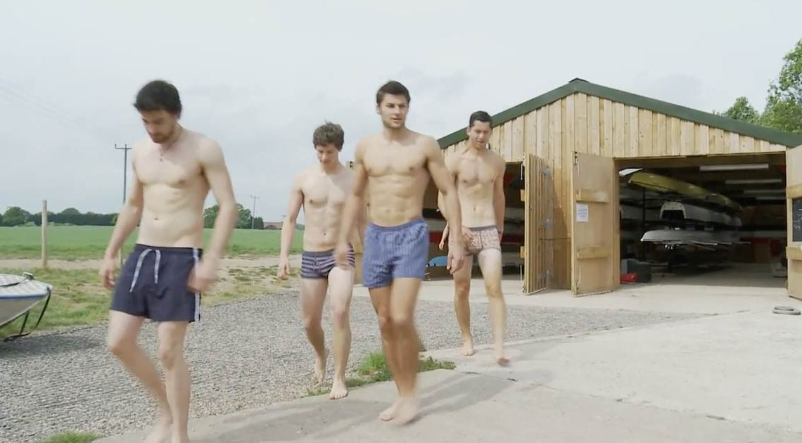Warwick Rowing Club Senior Men support Ben Cohen's Stand Up Foundation in their 2013 calendar and video