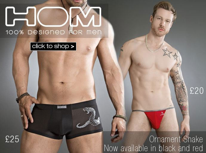 HOM Ornament Snake back in stock at Dead Good Undies