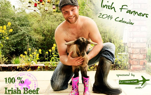 100% Irish Beef – The Irish Farmers 2014 calendar in aid of Bóthar