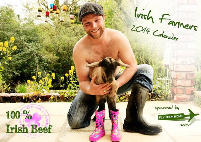 100% Irish Beef – The Irish Farmers 2014 calendar in aid of Bóthar