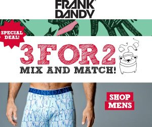 Frank Dandy 3 for 2 autumn 2013
