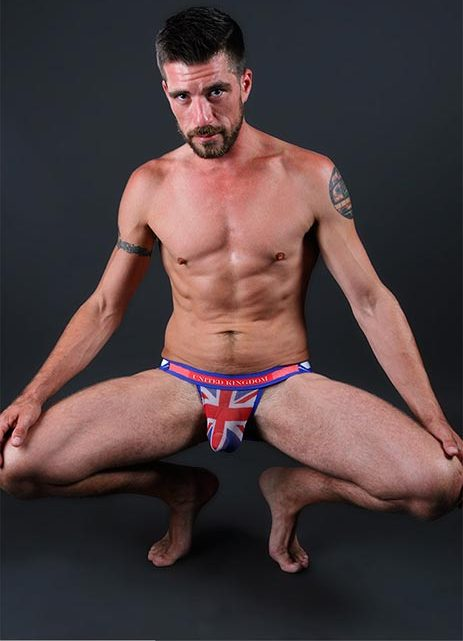 Wear your flag with pride – Pulse Mesh Stretch Country Jockstraps at Jockstrap Central