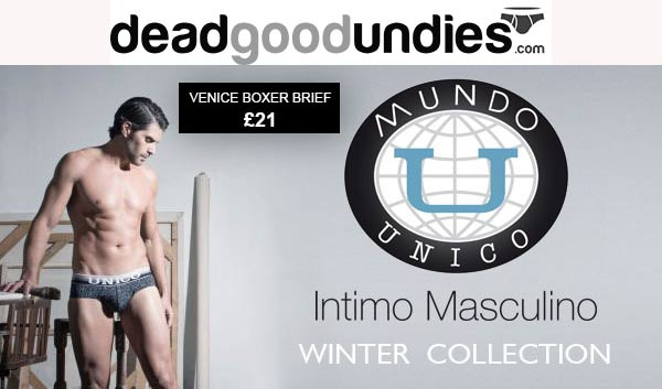 Mundo Unico Winter 2015 underwear collection
