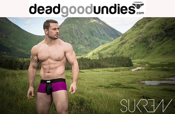 New styles from Sukrew now at Dead Good Undies