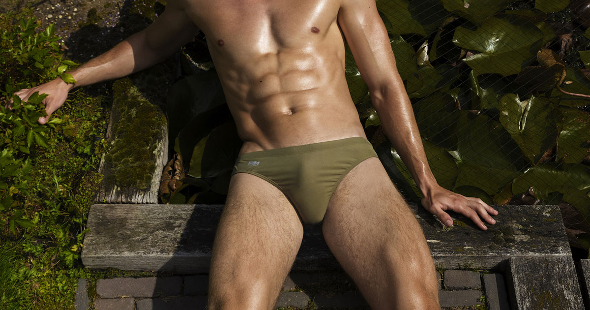 New pics of the Garcon Model swimwear Tuscany collection