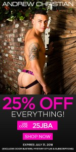 25 per cent off at Andrew Christian