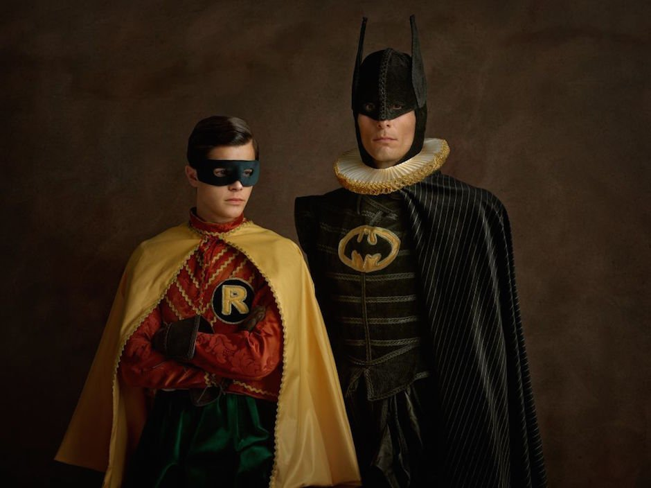 Batman Robin Super Flemish Sascha Goldberg