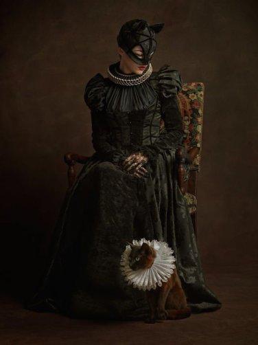 Catwoman Portrait Elizabethan