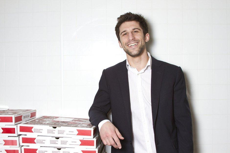 Rosa's Fresh Pizza Mason Wartmar Pay Forward Portrait Pizzabox Pizzeria Food