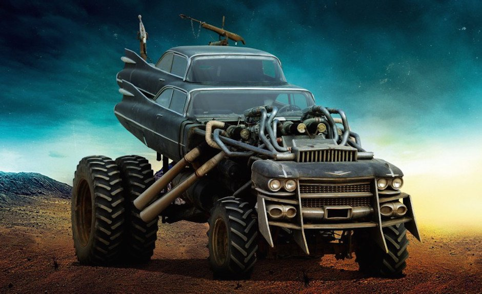 Mad Max: Fury Road The Gigahorse Wüste Tuning Auto Film Extrem V8 Doppelbereifung Chevrolet