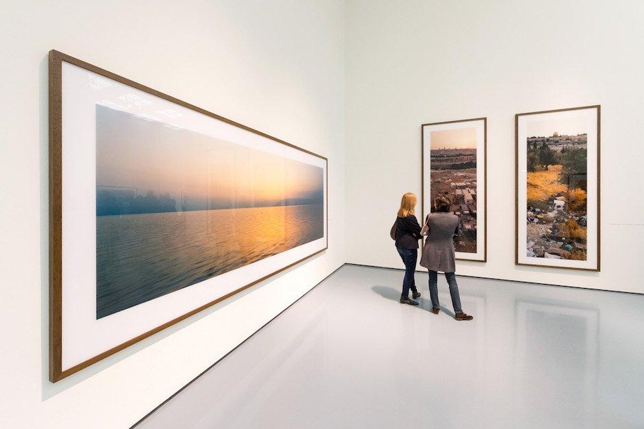 Austellungseröffnung Museum Kunstpalast Wim Wenders 4Real True2 Düsseldorf
