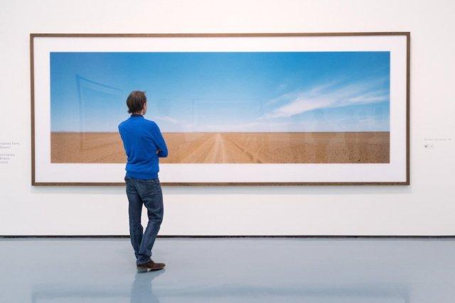 Austellungseröffnung Museum Kunstpalast Wim Wenders Exhibition Düsseldorf