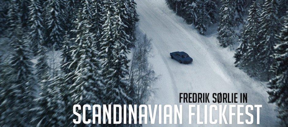 Fredrik Sørlie driftet im tiefsten Winter durch norwegische Rallye-Stage