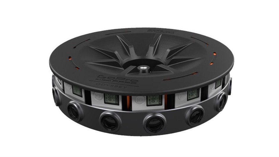 GoPro Odyssey VR Camera Rig 360 Grad Video