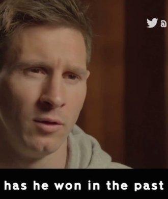 Lionel Messi Cristiano Ronaldo Film Reaktion Trailer Lustig Witzig