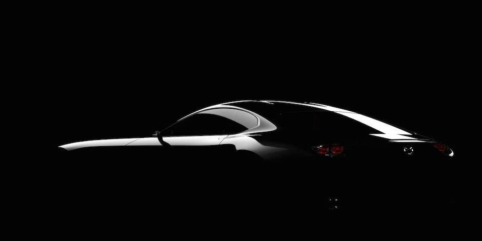 Mazda RX-7 Nachfolger Tokyo Motor Show Sportwagen Studie JDM Tuning Silhouette