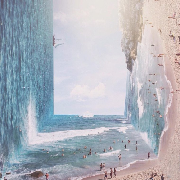 Surreal Landscape Jati Putra Pratama Indonesien Inception Landschaftsaufnahmen Photoshop