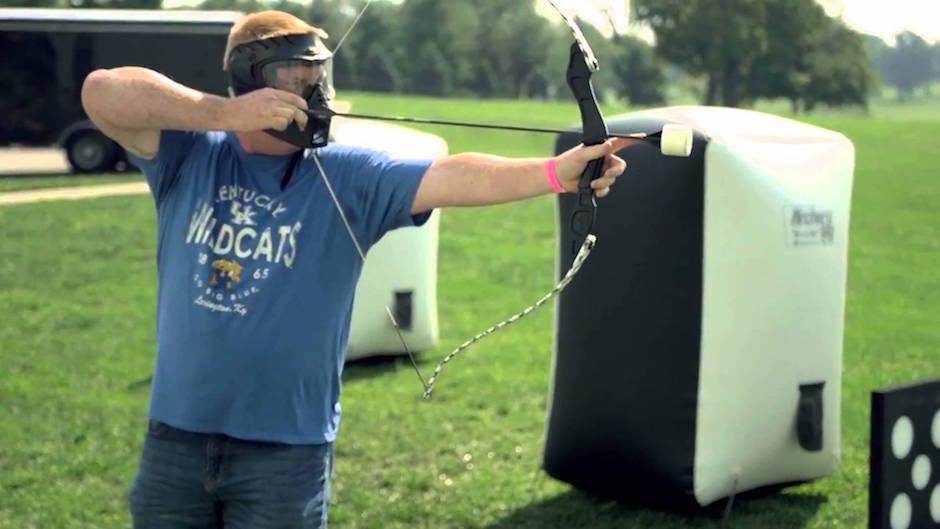 Archery Attack Arrow Tag Bogenschießen Paintball Funsport