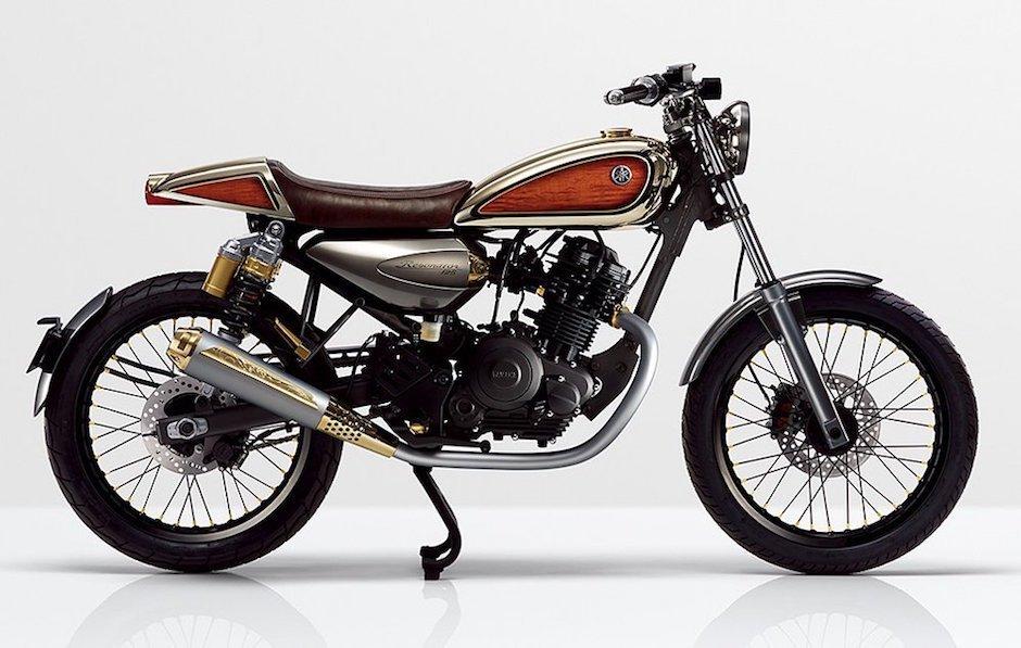 Yamaha Resonator 125 Concept Motorrad Bike Moped