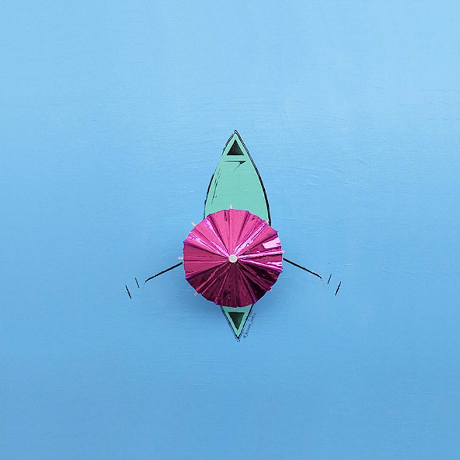 Jesuso-Ortiz-Art-Illustration-Ruderboot