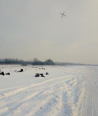 Droneboarding Aerones Quadrocopter Drohne Menschen Ziehen Ski Snowboard Schnee Piste Trendsport Funsport