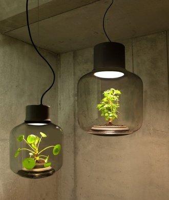 Mygdal Plantlamp Hängend Büro Beton Pflanzengefäß