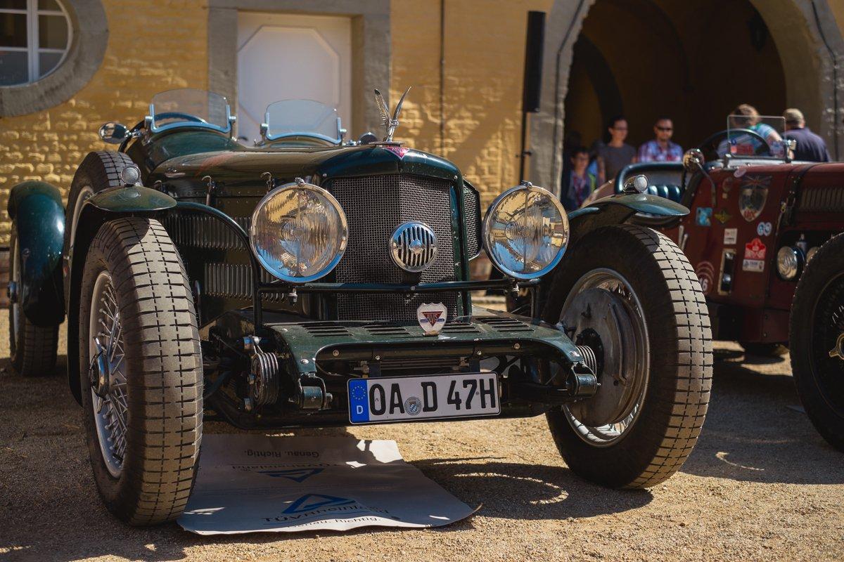 ALVIS Oldtimer Classic Days 2016 Schloss Dyck