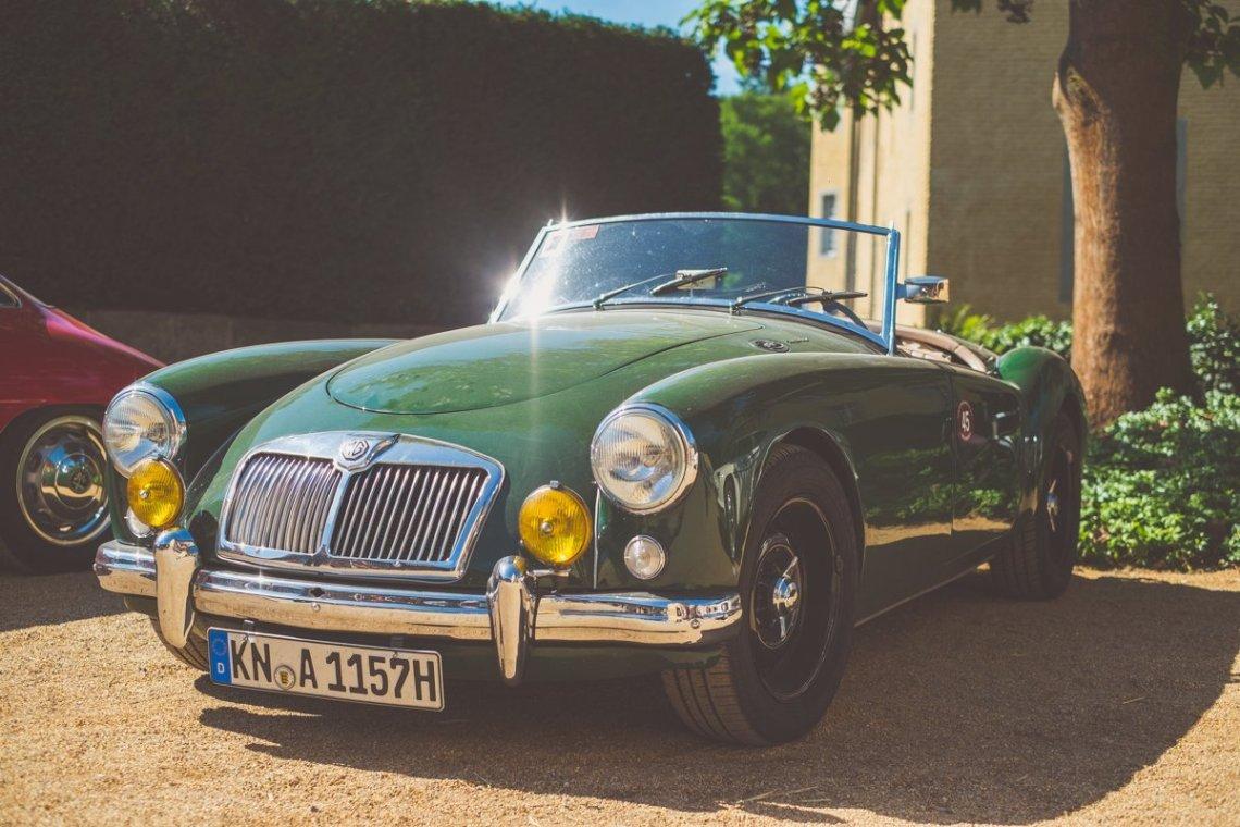 MG Cabrio Oldtimer Classic Days 2016