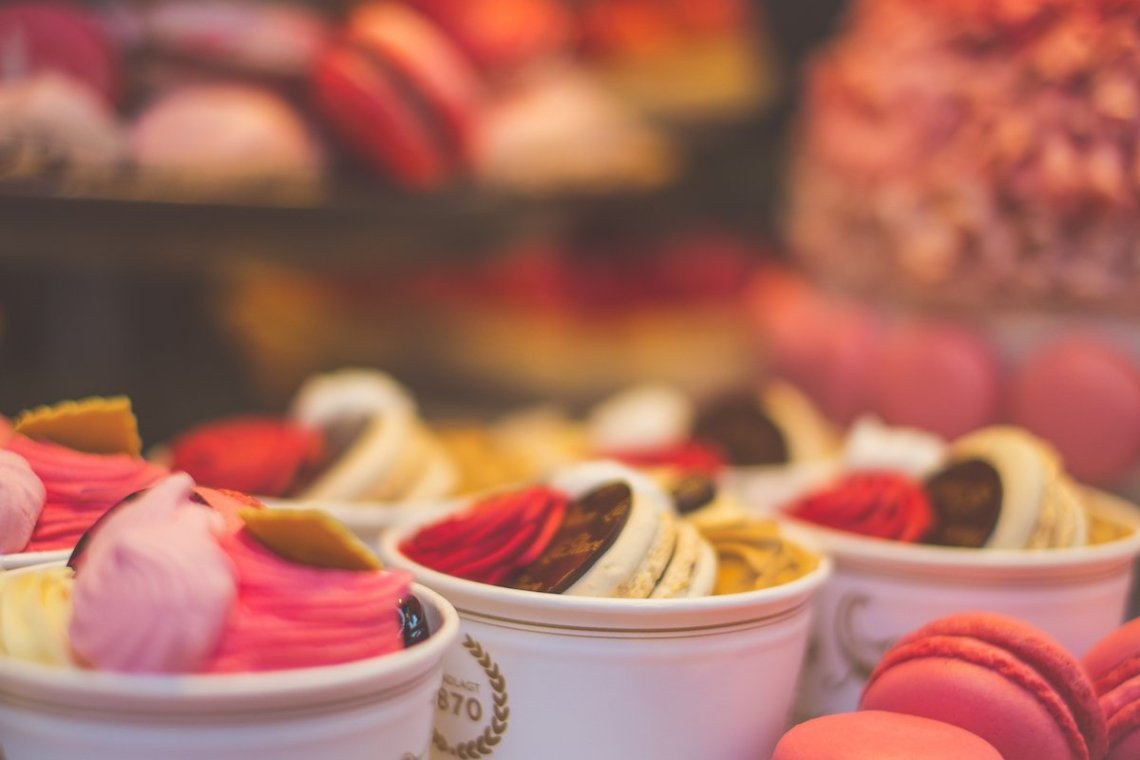 Patisserie Konditorei Kopenhagen Dessert Kuchen Sweets Cupcake Süßes Gaumenfreuden