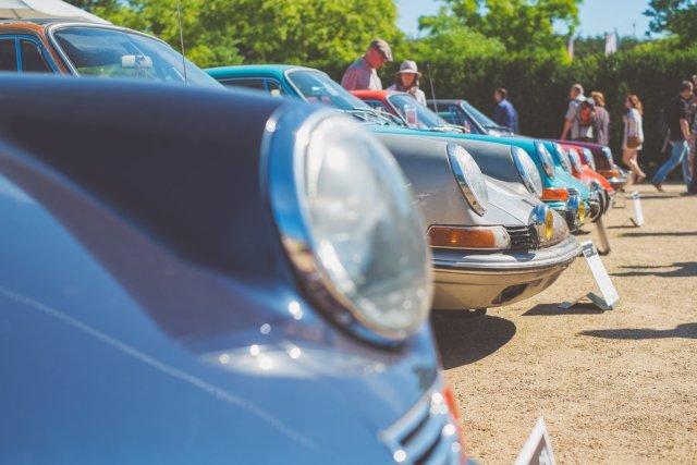 Porsche 911 Scheinwerfer Classic Days 2016