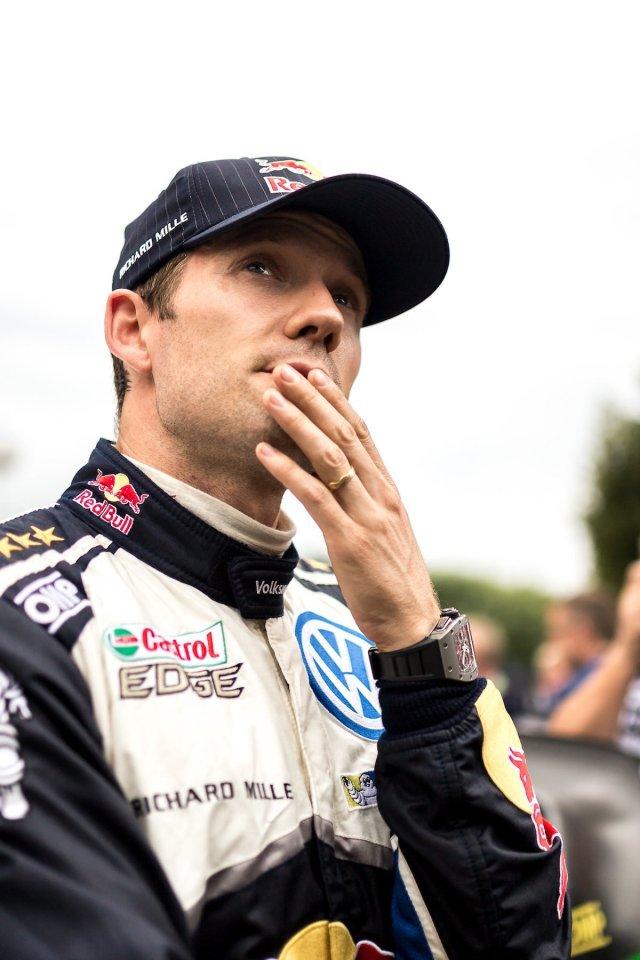 Sebastien Ogier Volkswagen Motorsport Portrait ADAC Rallye Deutschland WRC Champion Nachdenklich Thinking