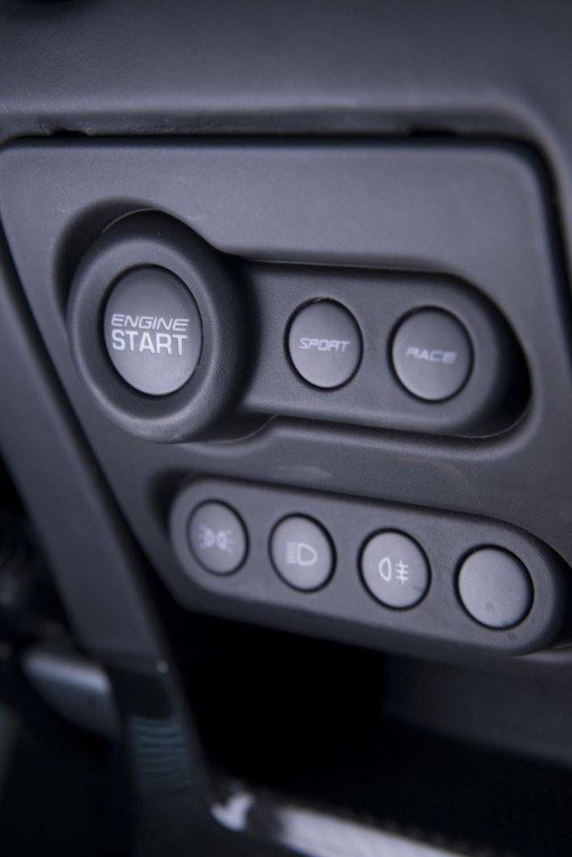 Drive Mode Fahrmodus Einstellung Setup Button Engine Start Sport Race Scheinwerfer