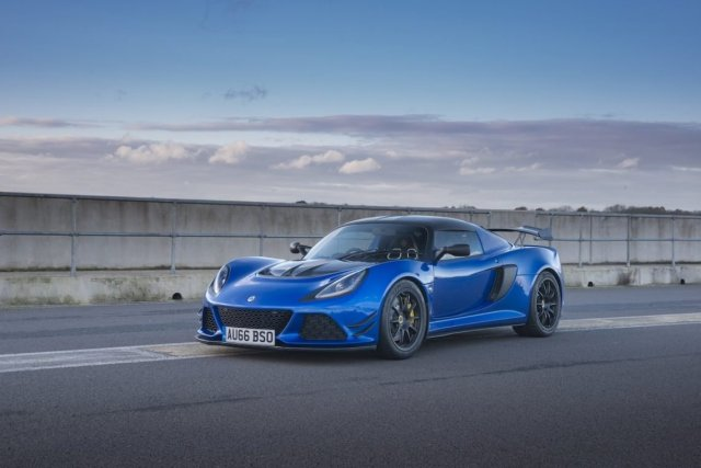 Lotus Exige Sport 380 Felgen Spoiler Flics Carbon Splitter