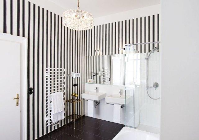 Hotel Altstadt Vienna Boutique Design Hotel Wien Suite XXL Lena Hoschek Badezimmer