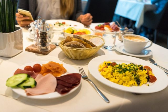 Alpiana Resort Wellness Hotel Lana Merna Südtirol Frühstück Breakfast GEsund Buffet