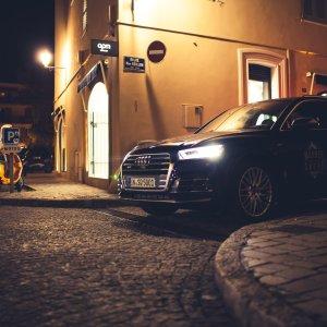 St. Tropez Innenstadt Audi SQ5