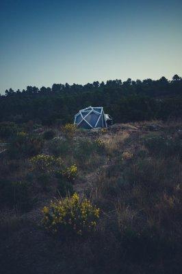 Heimplanet Zelt für Audi SQ5 Natur in Südfrankreich