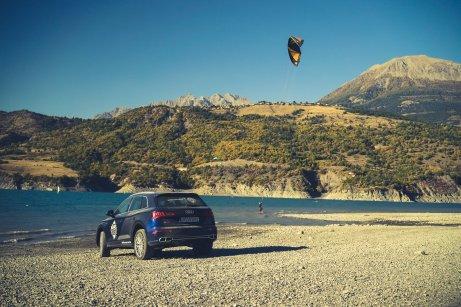 Kitesurfing Audi SQ5