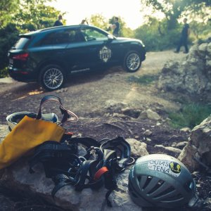 Kletterausrüstung Audi SQ5