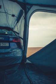 Heimplanet Zelt Audi Strand Beach Barcelona